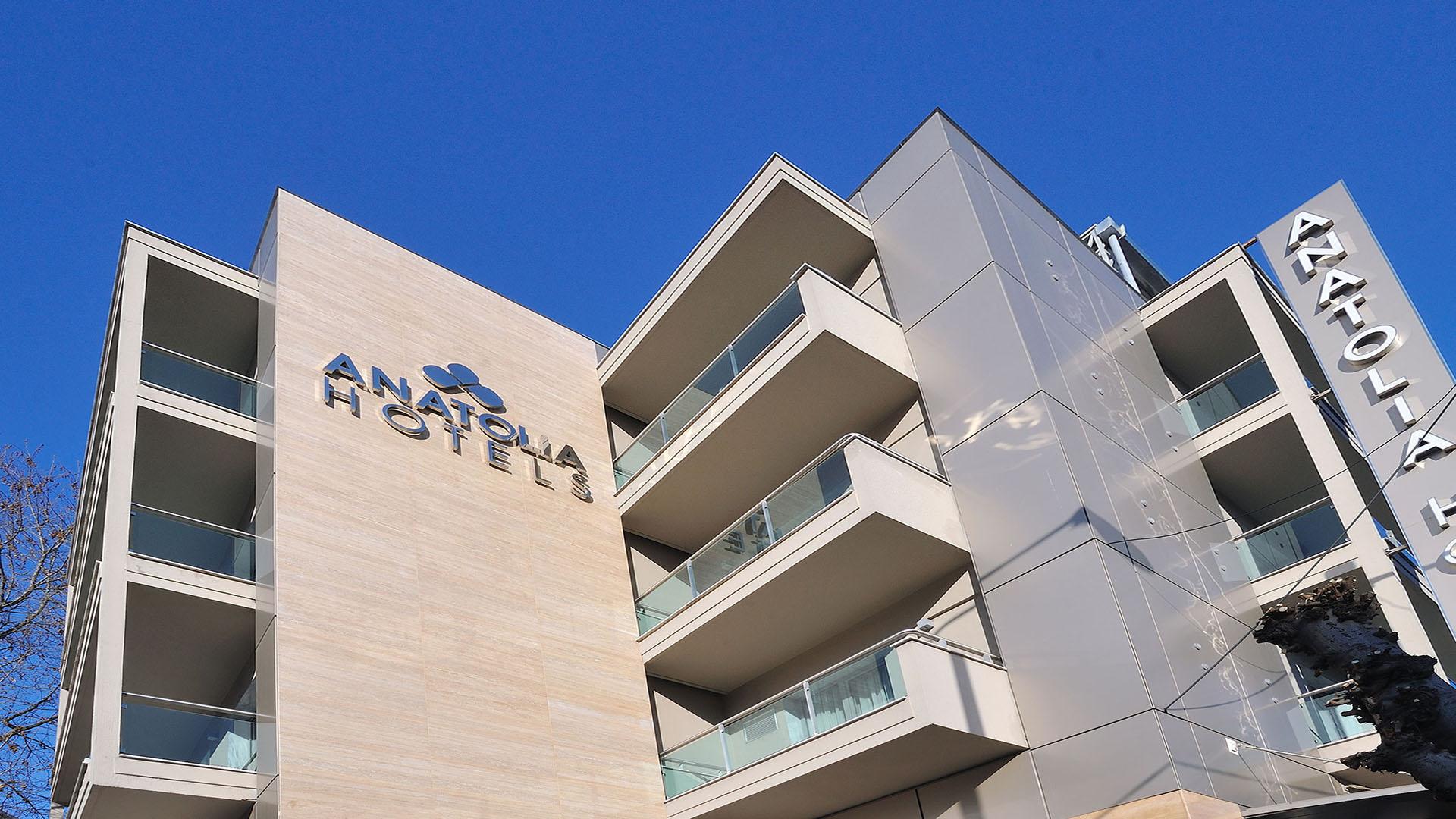anatolia hotel honeybee greece